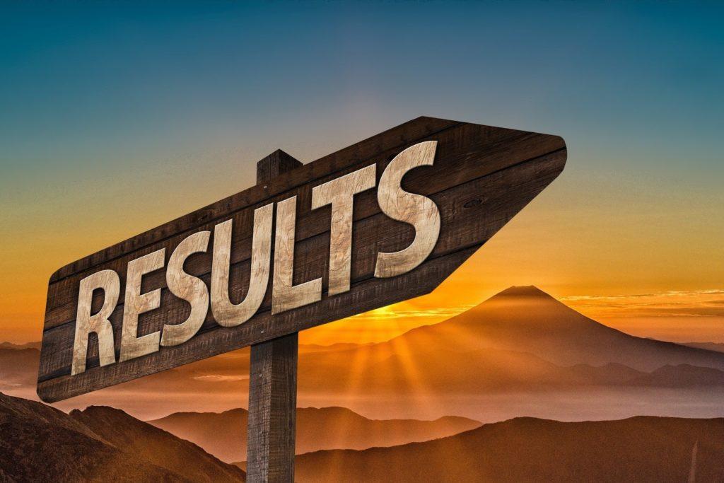 Resultate, Ergebnisse